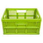 Shopping basket foldable