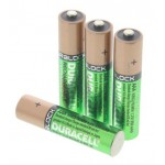 Battery AAA rechargeable