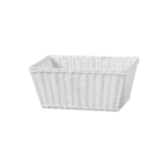 Bread basket white large