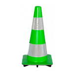 Traffic cone green large