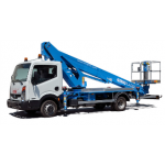 Van mounted boomlift
