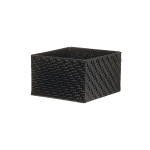 Bread basket black small