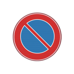 Traffic sign 'No Parking'
